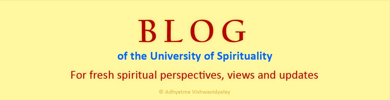 Blog of the University of Spirituality