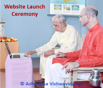 Launch of the University of Spirituality Website